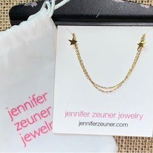 Jennifer Zeuner Mika Double Star Layering Necklace